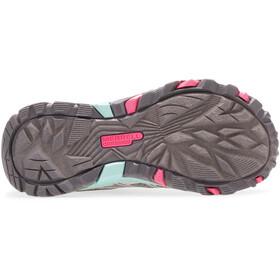 Merrell Moab FST Zapatillas Bajas Resistente al Agua Niños, gris
